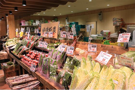 新鮮なお野菜・果物