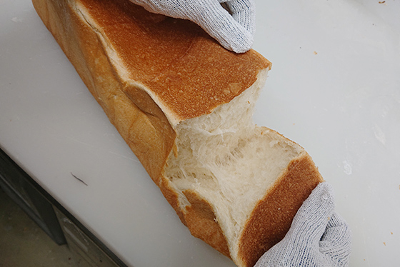看板メニューの「もちもち食パン」